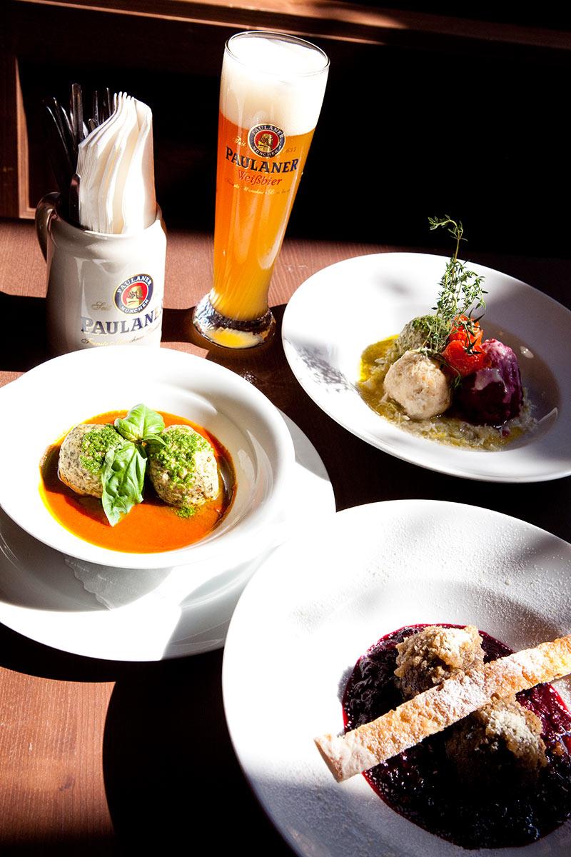 Weißbier Paulaner - Münchner Knödelei